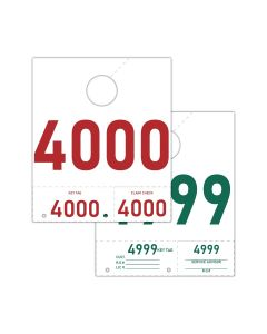 Service Tag Numbers: 4000-4999