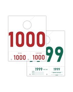 Service Tag Numbers: 1000-1999