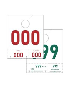 Service Tag Numbers: 000-999