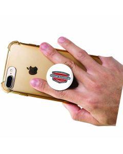 Popsocket Phone Holder on back of a phone