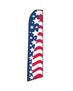 USA Glory Swooper Flag