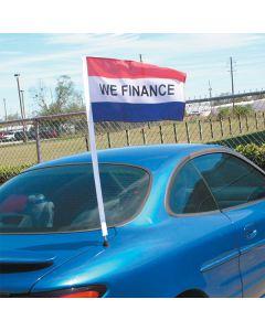 """We Finance"" Antenna Pennants"
